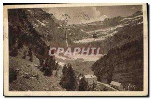 Old Postcard Gavarnie Cirque and Hotel