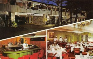 CARMEL BY THE SEA, CA California CARMEL SANDS MOTEL Bar~Dining ROADSIDE Postcard