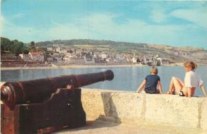 Cannon on the Cobb Lyme Regis