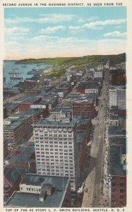 SEATTLE , Washington , 1910s ; Second Avenue