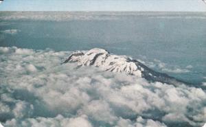 Airial View of the Ixtaccihuatl Volcano,The Sleeping Lady, PUEBLA, Mexico, 40...