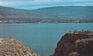 Penticton Seen from Sage Mesa, Okanagan Lake, B.C.,  Canada, 40-60s