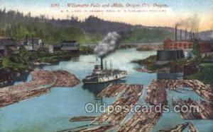 SP Lines In Oregon Ship Postcard Postcards  SP Lines In Oregon