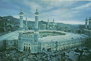 PC CPA SAUDI ARABIA, MECCA, REAL PHOTO Postcard (b16726)