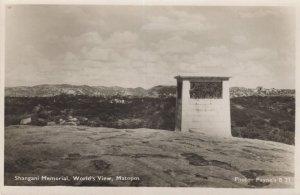 Shangani Memorial Matopos Zimbabwe Postcard