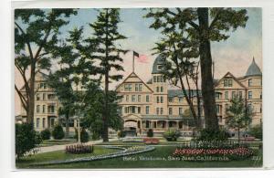 Hotel Vendome San Jose California 1910s postcard