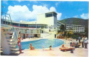 The Virgin Isle Hotel on St. Thomas, Virgin Islands, U.S.A., Chrome