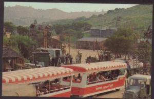Tram,Universal City Studios,CA Postcard