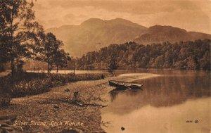 Loch Katrine Silver Strand Lake Boat Postcard