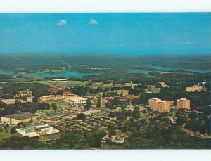 Unused Pre-1980 AERIAL VIEW OF TOWN Clemson South Carolina SC n1798-25