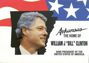 Arkansas The Home of 42nd U.S. President William J Bill Clinton (1990s)