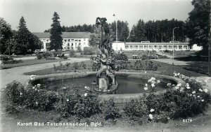 Austria  kurort bad tatzmannsdorf fountain sculpture park architecture Postcard