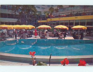 Unused 1950's STATLER HOTEL Los Angeles California CA Q4686