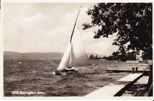 Germany - Sailboat on Bewegter Sea - RP 1934