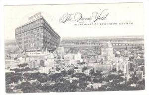 2-Views, The Queen's Hotel, Downtown Montreal, Quebec, Canada, 1920-1940s