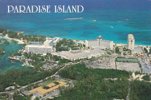 Bahamas Aerial View Luxury Hotels Paradise Island