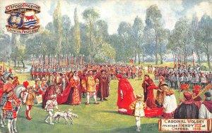 Oxford Pageant Tuck Ser II Card #9517 Cardinal Wolsey 1518 Postcard