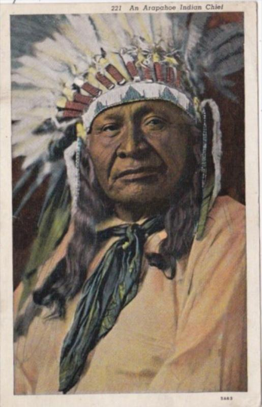 Arapahoe Indian Chief 1938