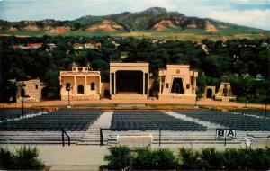 Black Hills Passion Play Amphitheater Spearfish South Dakota SD Postcard