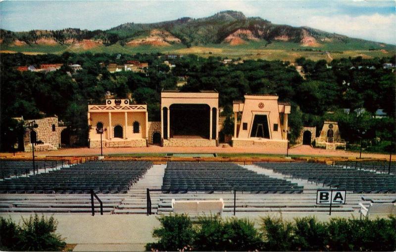 Black Hills Passion Play Amphitheater Spearfish South Dakota SD Postcard