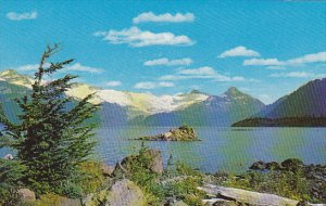 Canada Lake and Mountain Scene British Columbia