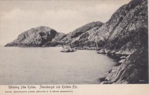 Halsning Fran Kullen, Akersberget Och Kullens Fyr., Sweden, 1900-1910s