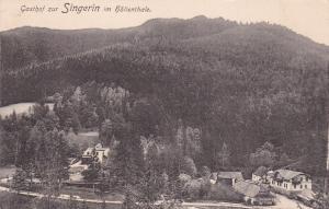 Gasthof zur SINGERIN im hollenthale , Austria 1900-10s ; Post, Telegraf & Teleph