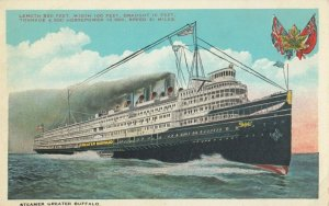 Steamer Greater Buffalo , 1910s
