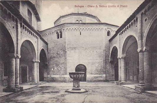 Chiesa S. Stefano (Cortile Di Pilato), Bologna (Emilia-Romagna), Italy, 1900-...