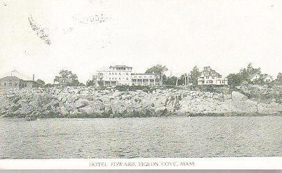 Maine - Hotel Edward, Pigeon Cove 1914