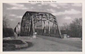 Texas Gainesville The Red River Bridge