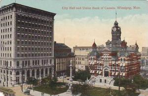 City Hall and Union Bank of Canada, Winnipeg, Canada, 00-10s