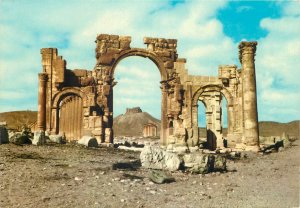 Post card Syria Palmyra antique ruins site