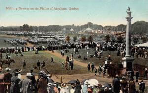 Quebec     Military Review on the Plains of Abraham