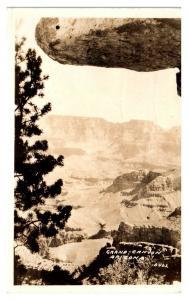 1934 RPPC Grand Canyon, AZ Real Photo Postcard *5N31
