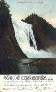 Montmorency Falls Quebec Canada 1908