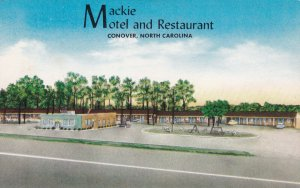CONOVER, North Carolina, 1950-1960s; Mackie Motel And Restaurant