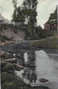 FLINT, Michigan, PU-1909; Thread Creek