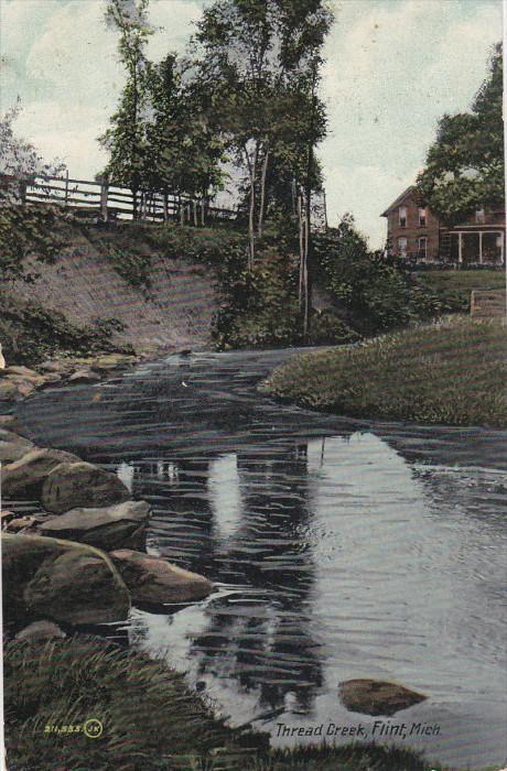 FLINT, Michigan, PU-1909; Thread Creek