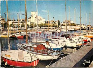Postcard Modern Colors Lorient Bretagne The Marina Yacht