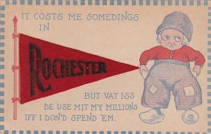 New York Rochester Dutch Boy Pennant Series 1913