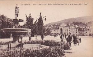 France Annecy Place de L'Hotel de Ville