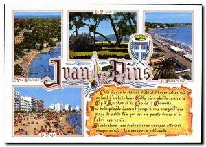 Postcard Modern Riviera Remembrance Juan les Pins