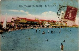 CPA Palavas-les-Flots - Le Kursaal et la Plage (255495)