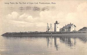 Provincetown Massachusetts Long Point tip of Cape Cod antique pc ZA440550