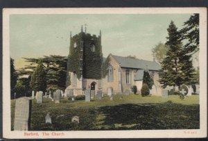 Warwickshire Postcard - Barford, The Church DC2386