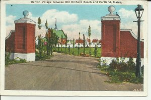Danish Village Between Old Orchard Beach And Portland,Maine