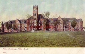 pre-1907 TILTON SEMINARY, Tilton, N. H.