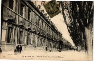 CPA AVIGNON - Hopital Ste-Marthe Civil et Militaire (511644)