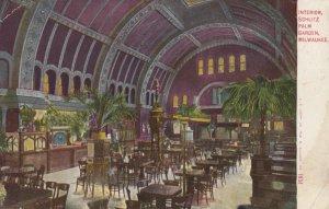 MILWAUKEE, Wisconsin, 1910; Interior of Schlitz Palm Garden
